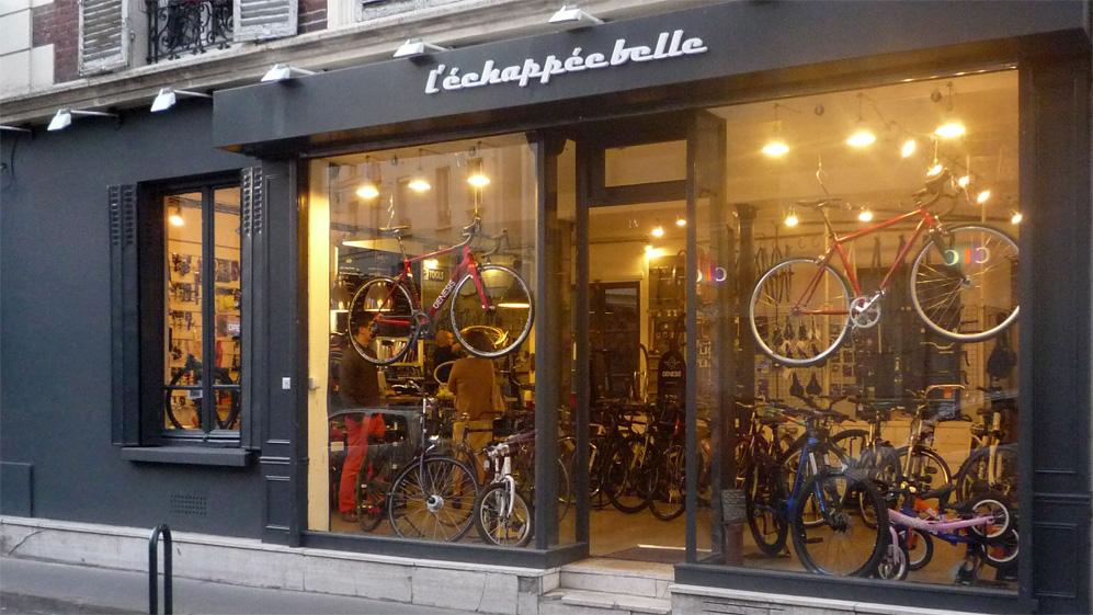 la boutique l 39 echapp e belle comptoir du cycliste. Black Bedroom Furniture Sets. Home Design Ideas